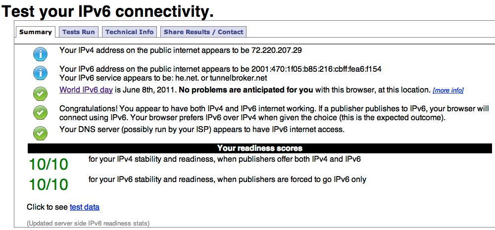 A sample image taken from ipv6-test.com.